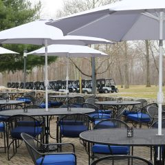 golf audience area- The Somers Pointe & The Grille at Somers Pointe