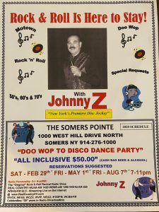 Doo Wop to Disco Dance Party- The Somers Pointe & The Grille at Somers Pointe