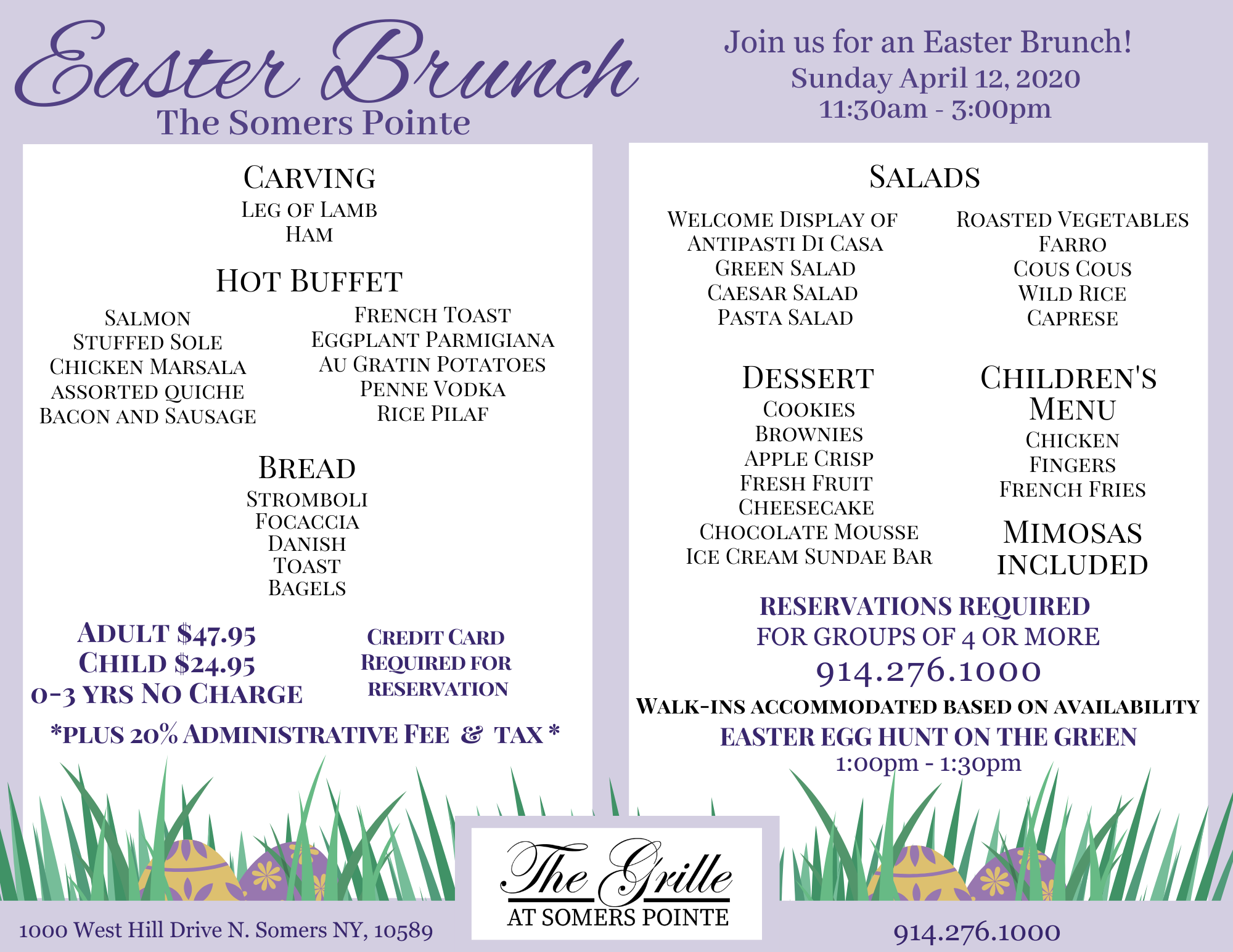 Easter Brunch at The Somers Pointe Event Details